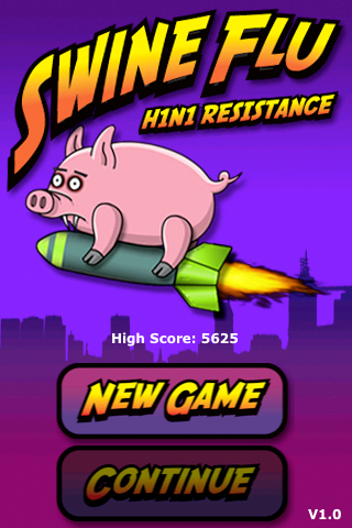 Screenshot Swine Flu H1N1 The Game